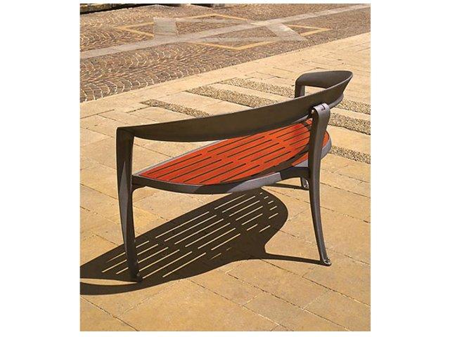 Banc nastra bois ace mobilier urbain - Mobilier urbain banc bois ...